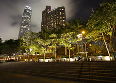 Taking a Quiet Moment (fantommst) Tags: lisaridings fantommst hongkong hk china western central night cityscape lights park steps quiet