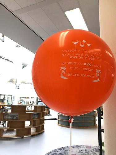 Cloudbuster Rond Bedrukt Kamer van Koophandel Rotterdam Jong KVK