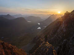 Liathach Sunrise (RobGrahamPhotography) Tags: sunrise liathach mountain torridon mountains munro ridge scotland scottishhighlands highlands britain outdoor nature canon canon6d landscape landscapes sky