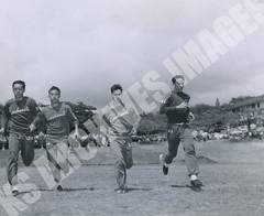 901- 5556 (Kamehameha Schools Archives) Tags: kamehameha archives ksg ksb ks oahu kapalama luryier pop diamond 1955 1956 chong aki luke stone distance runner