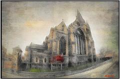 ST. FRANCIS XAVIER (DEZ 2) Tags: hdr church fisheye samyang stfrancisxavierchurch liverpool texture samyang8mm everton churches impression