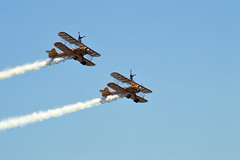 DSC_0665_001 (Gobbledeek) Tags: wales national airshow 2018 air show walesnationalairshow aerosuperbatics wing walkers aerosuperbaticswingwalkers wingwalkers