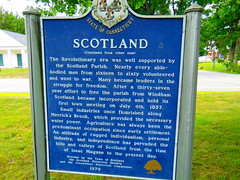 Scotland, Connecticut (jjbers) Tags: scotland connecticut june 6 2018 new england town center green park historical marker