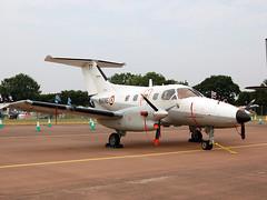 77 Embraer 121AN Xingu of French Navy (johnyates2011) Tags: riat riat2018 fairford raffairford 77 embraer embraer121 xingu embraer121xingu frenchnavy