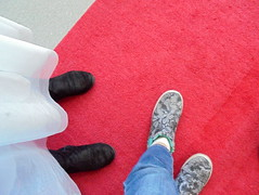 DSC02631-001 (classroomcamera) Tags: school classroom feet foot above below up down red carpet carpets rug rugs dress dresses pant pants shoe shoes child children kid kids girl girls boy boys jean jeans leg legs