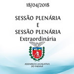 Sessão Plenária e Sessão Plenária Extraordinária 18/04/2018