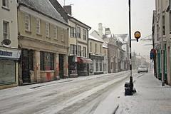 Snow - Cullompton, Devon - March 2018