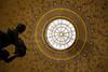 La fontaine (FenderTof) Tags: france lorraine vosges canon 1200d fontaine toit puit de lumière faïence statue