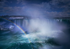 Rainbow in the Mist (lfeng1014) Tags: rainbowinthemist niagarafalls horseshoefalls rainbow mist ontario canada landscape canon5dmarkiii ef2470mmf28liiusm leefilters lifeng
