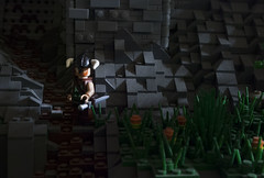 Exploring Skyrim (Ben Cossy) Tags: yes i know its dusty shhh skyrim lego moc minifigure castle fantasy viking dovahkiin afol tfol video game