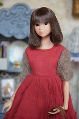 Portrait of Ava (Girl Least Likely To) Tags: momoko sekiguchi closeclippedsheep dolls toys asianfashiondolls japanesetoys miniatures dollhouse dollscene diorama dollroom livingroom dresses