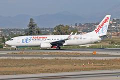 EC-LVR Boeing 737-85P Air Europa AGP 20-06-18 (PlanecrazyUK) Tags: lemg malaga–costadelsolairport malaga costadelsol eclvr boeing73785p aireuropa agp 200618