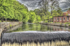 El río de la vida (Pearce Levrais Photography) Tags: hdr canon forest water whitewater waterfall stone brick waterway park building cloud picoftheday photooftheday artistic beautiful serene peaceful beauty surreal nh newhampshire
