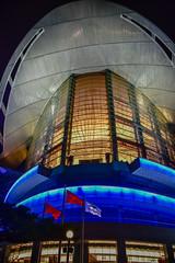 Hong Kong Convention Centre at Night - Wah Chai Hong Kong (mbell1975) Tags: hongkong hongkongisland hk hong kong convention centre night wah chai china sar