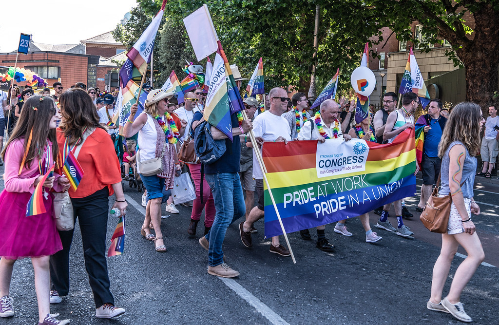 ABOUT SIXTY THOUSAND TOOK PART IN THE DUBLIN LGBTI+ PARADE TODAY[ SATURDAY 30 JUNE 2018] X-100107