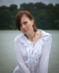 Mädchen am See (FotoMaggi) Tags: sensuality portrait women sensual beautiful cute girl germangirl instagood young beauty piercing sensualgirl youngadult brownhair behlendorf schleswigholstein deutschland de