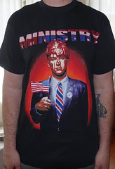 #3041A - Ministry - Filth Pig 1995 US Tour (Minor Thread) Tags: minorthread tshirtwars tshirt shirt vintage rock concert tour merch black ministry filthypig 1995 industrial warnerbrothers records warnerbros