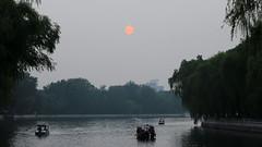 Sunset at Houhai (thyngum) Tags: china beijing shichahai houhai sunset atardecer 北京 中国 后海 什刹海