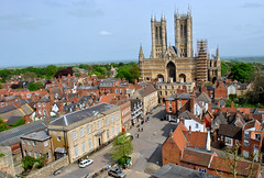 Lincoln (Rackelh) Tags: town cathedral travel landscape history lincoln england unitedkingdom houses building architecture