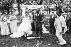 Jumping the Broom (nichols_) Tags: jumpingthebroom canon6d wedding weddings weddingphotojournalism documentaryweddingphotography bride groom