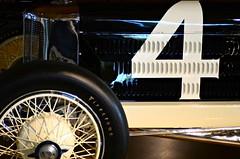 Old Number 4 (Studio d'Xavier) Tags: werehere numberwang numbers four 4 car auitomobile