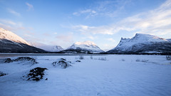 Frozen Landscape (NARIBIS) Tags: norway norvége paysage landscape neige snow glace ice sunset
