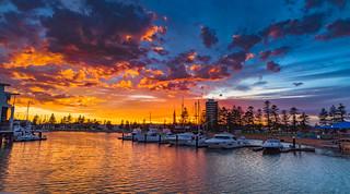 Sunrise over Glenelg