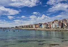 A Guarda (Pontevedra) (Miguelanxo57) Tags: ciudad edificio agua cielo mar bote costa aguarda pontevedra galicia