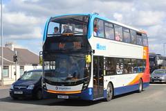 STAGE COACH WESTERN 10916 SN67XAH (bobbyblack51) Tags: stagecoach western 10916 sn67xah alexander dennis enviro e40d 400mmc route branded eleven x16 ayr 2018