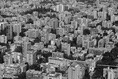 Buildings and buildings (MFMarcelo) Tags: providencia regiónmetropolitana chile building skycostanera blackandwhite metropolis santiago