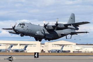 Lockheed EC-130H Compass Call 73-0595 DM 55th ECG / 41st ECS