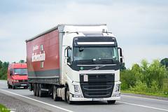 Volvo FH500 IV Globetrotter (UA) (almostkenny) Tags: lkw truck camion ciężarówka ua ukraine volvo fhiv fh500 globetrotter ao ao7772bt ex terraviasro