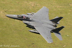 01-2004 McDonell Douglas F-15 Strike Eagle US Airforce Mach loop 11.06-18 (rjonsen) Tags: plane airplane aircraft military fighter jeg low level flying lfa7 snowdonia wales
