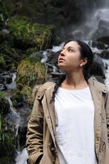 MS 70008 (kgvuk) Tags: hollyoliva modelshoot melincourt sgwdrhydyrhesg melincourtfalls water waterfall southwales resolven model