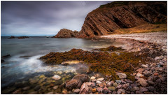 Composed for Vlog (Augmented Reality Images (Getty Contributor)) Tags: nisifilters benro canon cliffs clouds findochty landscape longexposure morayfirth nature rocks scotland seascape seaweed water waves