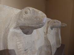 Uraeus Cobras from Djoser's Pyramid Complex (Aidan McRae Thomson) Tags: saqqara museum egypt ancient egyptian sculpture statue