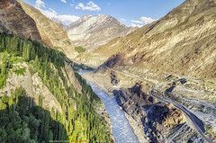 Indus River & KKH (AQAS.Clicks) Tags: landscape pakistan nature trekking photography ngc travelpakistan beautifulpakisan travel canon perspective moments natureshots naturephotography naturelovers scenery aqas indus river kkh hunza gilgit gb concordians