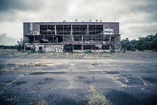 Abandoned Soviet Military Air Base in Oranienburg