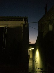 Night falls... (Sara Makboul) Tags: oldtown alley endoftheday twilight bluehour summerevenings nightfalls sunset