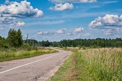 Road to Tilsit (anaspringfeldt) Tags: fujixphotographer kaliningradskayaoblast krasnosnamenskirayon eastprussia ostpreusen mazuiken