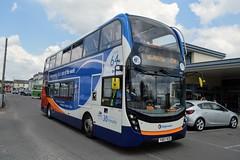 10891 YX67VCD (PD3.) Tags: 10891 yx67vcd yx67 vcd adl enviro 400 mmc stagecoach bus buses psv pcv hampshire hants england uk alton mid railway watercressline water cress line