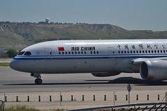 Air China Boeing 787-9 msn 34312 B-1591 (djwilliams1990) Tags: madrid barajas adolfosuarez spain aviation aircraft