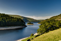 Haweswater, Cumbria, England (vincocamm) Tags: lake water shore shoreline haweswater cumbria lakedistrict trees green blue summer reservoir nikon d5500 drought hot