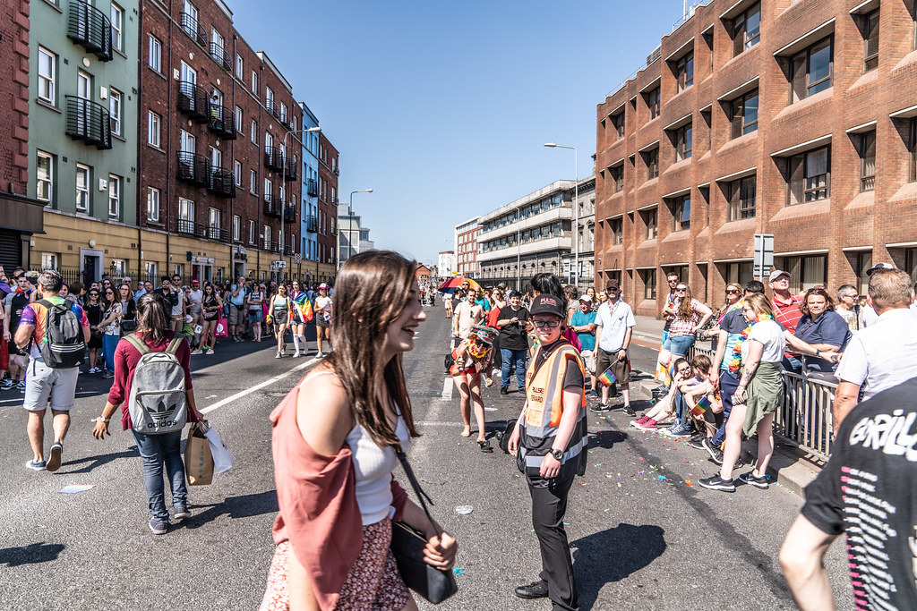 ABOUT SIXTY THOUSAND TOOK PART IN THE DUBLIN LGBTI+ PARADE TODAY[ SATURDAY 30 JUNE 2018] X-100025