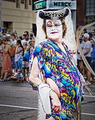 "WHEN ""FABULOUS"" IS AN UNDERSTATEMENT (panache2620) Tags: drag queen flamer flaming pride fun dragqueen minneapolis minnesotaeos canon marcher glbtq"