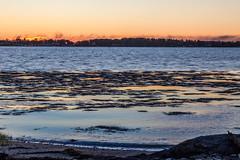 Sundown (Me in ME) Tags: maine harpswell pottspoint sunset sundown dusk smoke explosion fire chebeagueisland