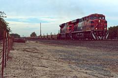UP IOALBR-05 (caltrain927) Tags: union pacific railroad empty intermodal well car train ferromex ferrocarril mexicano ge es44ac emd sd70ace lathrop manteca california ca