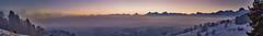 Burgistein Panorama Morgen (Bugtris) Tags: 2470f4l burgistein nebel landschaft morgen hdrdri berg canon 5dmkiii alpen fog