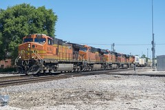 BNSF 4104 (SouthShoreFan) Tags: trains bnsf ns ge