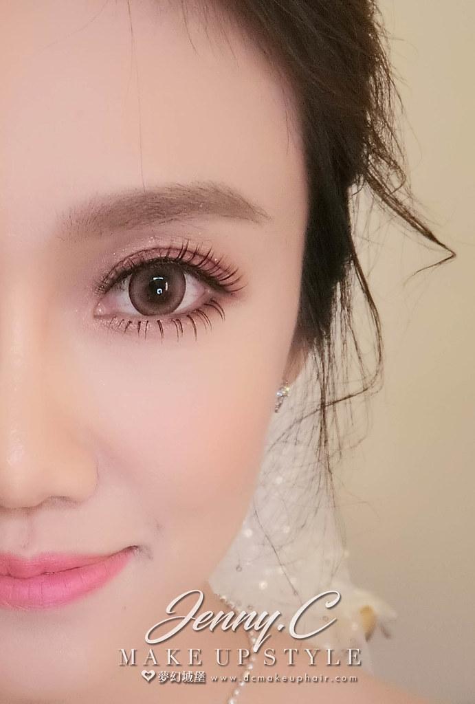 【新秘蓁妮】bride承柔 結婚造型 / 球愛物語